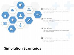 Simulation Scenarios Ppt Powerpoint Presentation Pictures Ideas