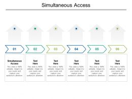 Simultaneous Access Ppt Powerpoint Presentation Icon Background Image Cpb