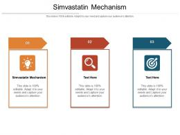 Simvastatin Mechanism Ppt Powerpoint Presentation Gallery Show Cpb
