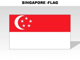 Singapore Country Powerpoint Flags