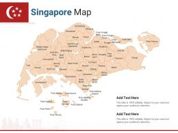 Singapore Map Powerpoint Presentation PPT Template
