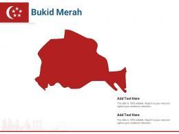 Singapore States Bukid Merah Powerpoint Presentation PPT Template