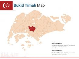 Singapore States Bukid Timah Map Powerpoint Presentation PPT Template