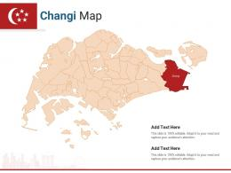 Singapore States Changi Map Powerpoint Presentation PPT Template