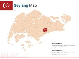 Singapore States Geylang Map Powerpoint Presentation PPT Template
