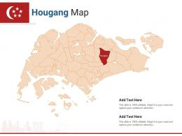 Singapore States Hougang Map Powerpoint Presentation PPT Template