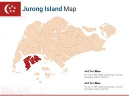 Singapore States Jurong Island Map Powerpoint Presentation PPT Template