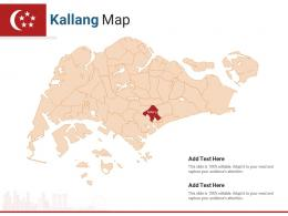 Singapore States Kallang Map Powerpoint Presentation PPT Template