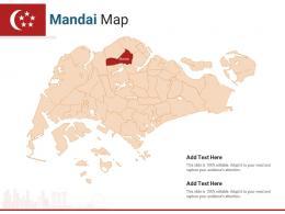Singapore States Mandai Map Powerpoint Presentation PPT Template