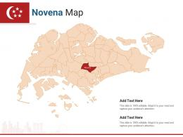 Singapore States Novena Map Powerpoint Presentation PPT Template