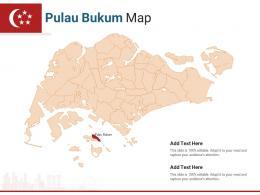 Singapore States Pulau Bukum Map Powerpoint Presentation PPT Template