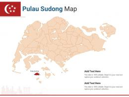 Singapore States Pulau Sudong Map Powerpoint Presentation PPT Template