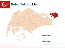 Singapore States Pulau Tekong Map Powerpoint Presentation PPT Template