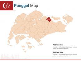 Singapore States Punggol Map Powerpoint Presentation PPT Template