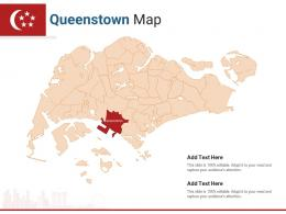 Singapore States Queenstown Map Powerpoint Presentation PPT Template