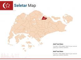 Singapore States Seletar Map Powerpoint Presentation PPT Template