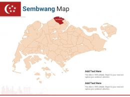 Singapore States Sembwang Map Powerpoint Presentation PPT Template
