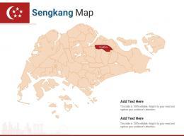 Singapore States Sengkang Map Powerpoint Presentation PPT Template