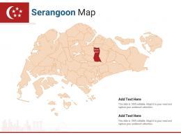Singapore States Serangoon Map Powerpoint Presentation PPT Template