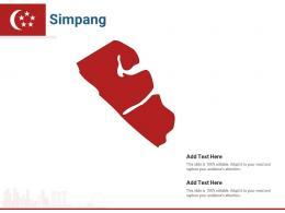 Singapore States Simpang Powerpoint Presentation PPT Template