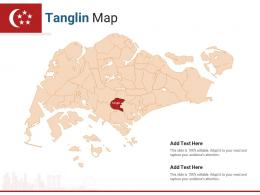 Singapore States Tanglin Map Powerpoint Presentation PPT Template