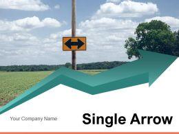 Single Arrow Biological Development Growth Acquisition Process