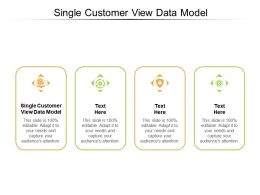 Single Customer View Data Model Ppt Powerpoint Presentation Outline Cpb