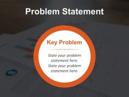 Single Line Problem Statement Template For Businesses