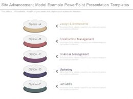Site Advancement Model Example Powerpoint Presentation Templates