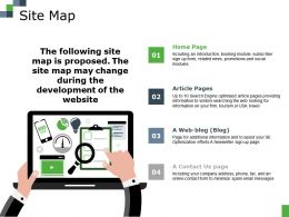 Site Map Ppt File Graphics