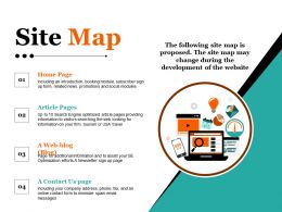 Site Map Ppt Images Gallery