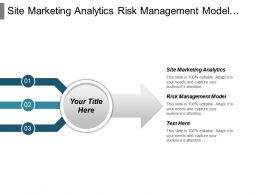 Site Marketing Analytics Risk Management Model Innovation Reporting Cpb