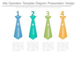 Site Operation Template Diagram Presentation Design