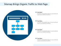 Sitemap Brings Organic Traffic To Web Page