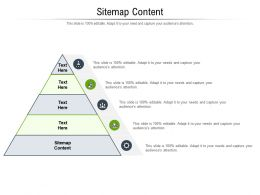 Sitemap Content Ppt Powerpoint Presentation File Slide Portrait Cpb