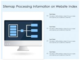 Sitemap Processing Information On Website Index