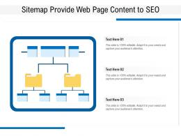 Sitemap Provide Web Page Content To SEO