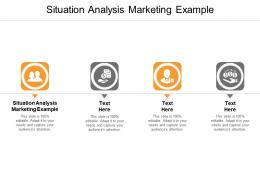Situation Analysis Marketing Example Ppt Powerpoint Presentation Infographics Influencers Cpb