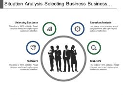 Situation Analysis Selecting Business Business Composition Preparation Business