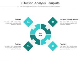 Situation Analysis Template Ppt Powerpoint Presentation Template Cpb