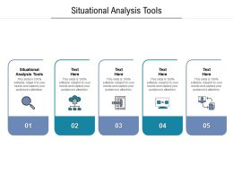 Situational Analysis Tools Ppt Powerpoint Presentation Inspiration Example File Cpb
