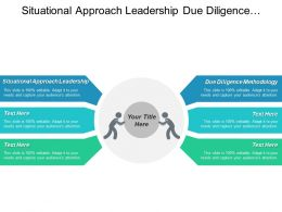 Situational Approach Leadership Due Diligence Methodology Modules Strategy Cpb