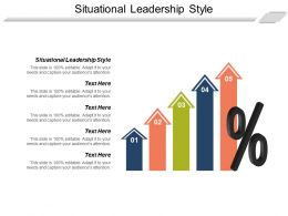 Situational Leadership Style Ppt Powerpoint Presentation Model Layout Ideas Cpb