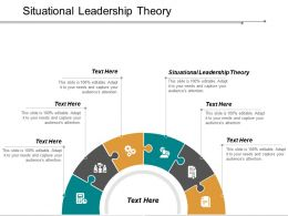 Situational Leadership Theory Ppt Powerpoint Presentation Inspiration Clipart Images Cpb