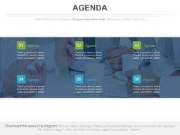 Six Agendas For Teamwork And Success Powerpoint Slides