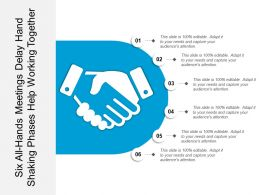 Six All Hands Meetings Delay Hand Shaking Phases Help Working Together