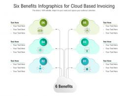 Six Benefits For Cloud Based Invoicing Infographic Template