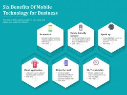 Six Benefits Of Mobile Technology For Business