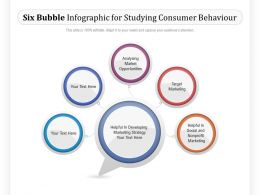 Six Bubble Infographic For Studying Consumer Behaviour