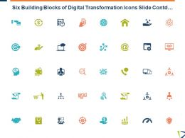 Six Building Blocks Of Digital Transformation Icons Slide Contd Target L16 Ppt Powerpoint